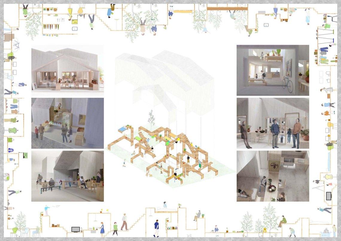 空間構造設計本提出 ラスタライズ